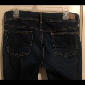 "American Eagle ""super stretch"" skinny jeans"